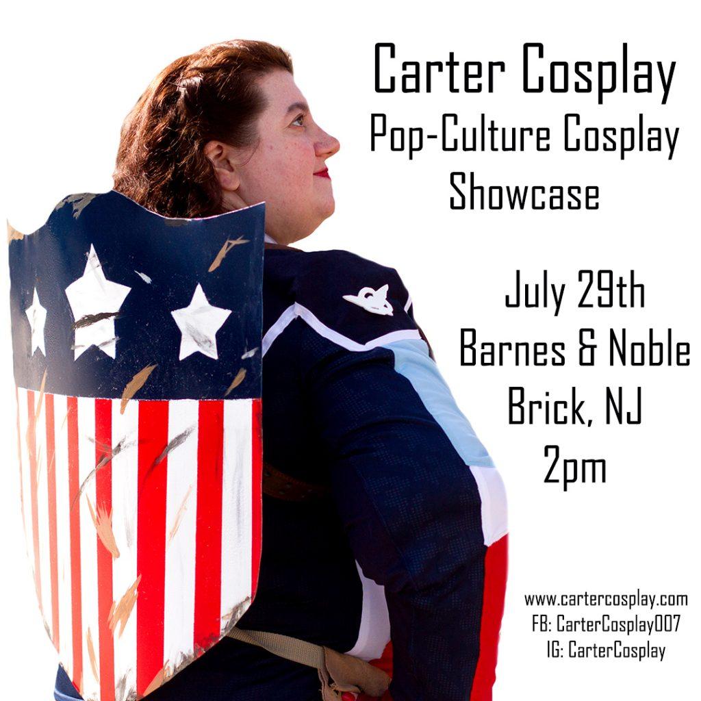 pop culture cosplay showcase