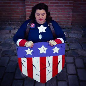 Kristine Knowlton as Captain Peggy Carter