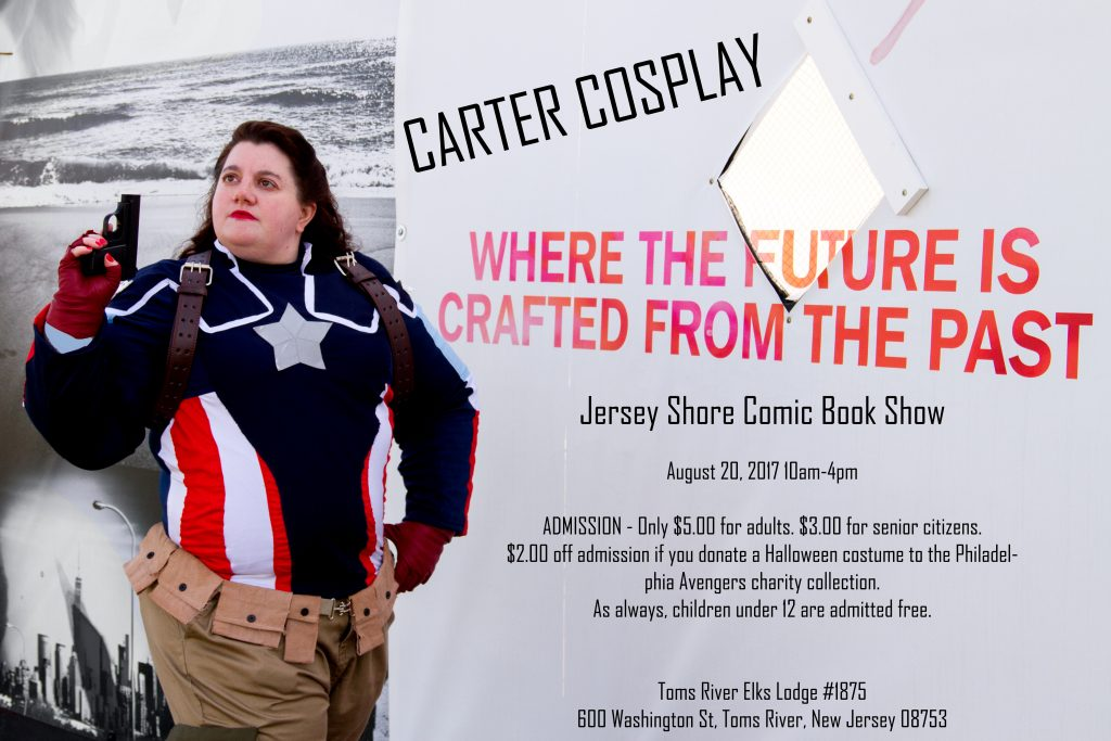 Carter Cosplay at the Jersey Shore Comic Book Show