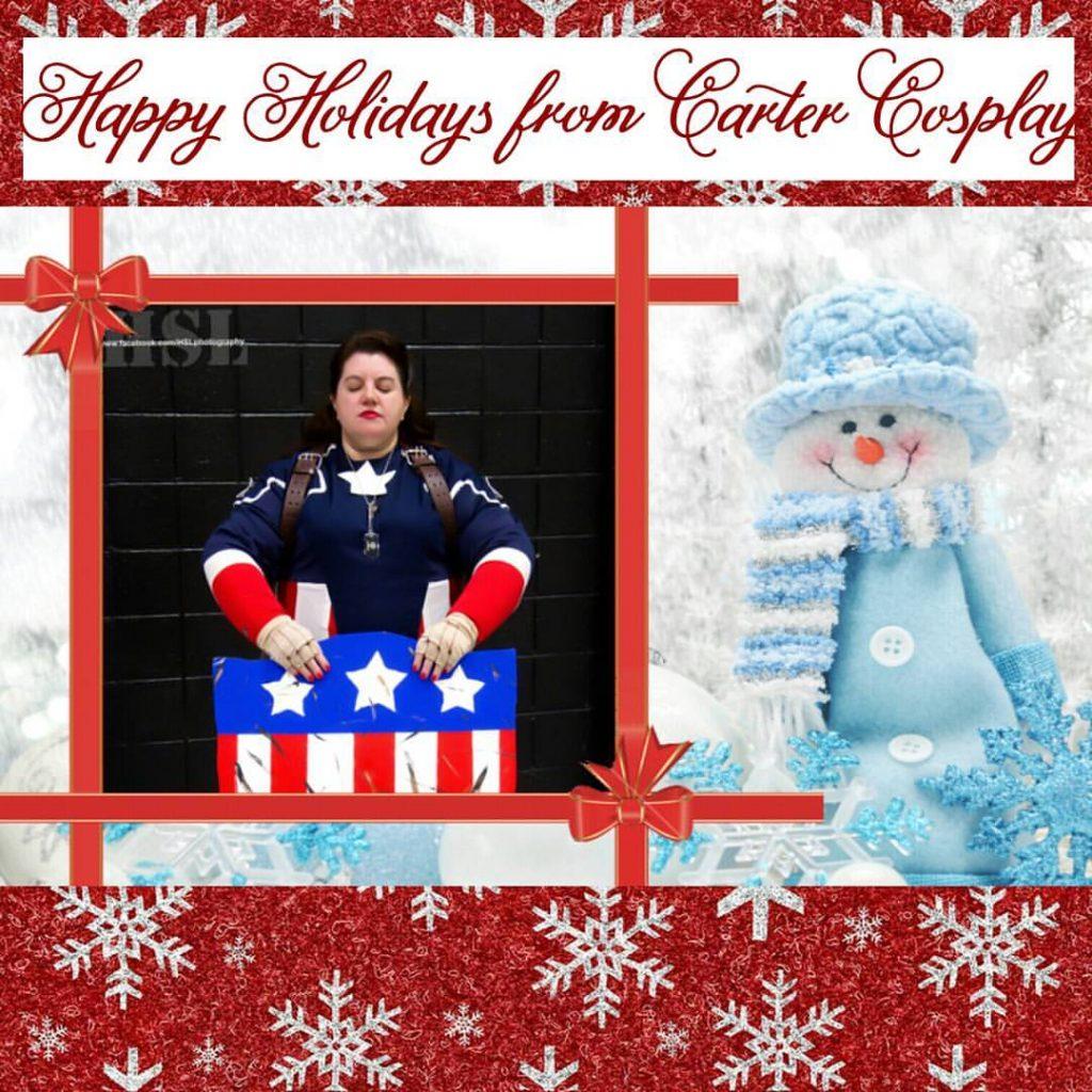 Carter Cosplay