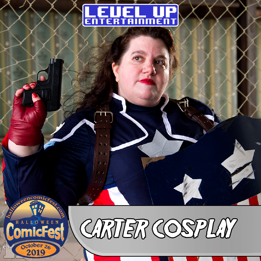 Carter Cosplay HalloweenFest Level Up